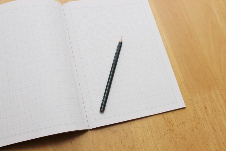 夢リストをかくのに用意するべきものはノートとペンだけだという写真