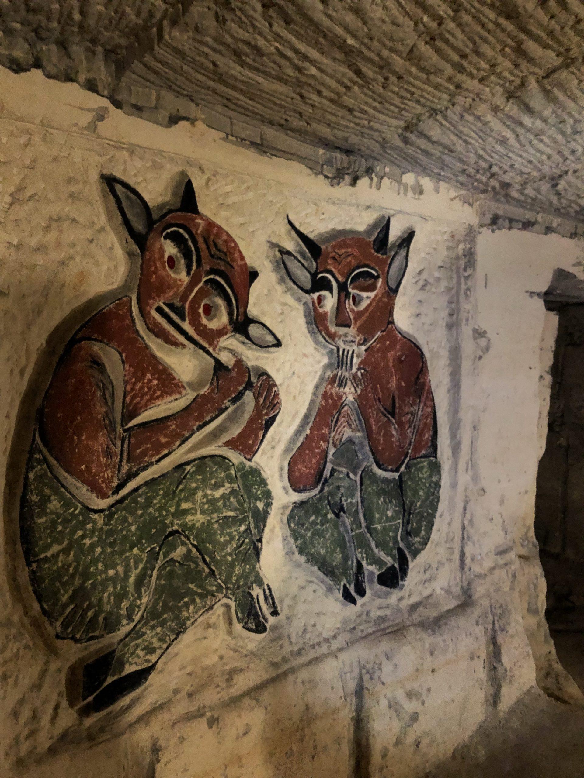 オランダマーストリヒト洞窟