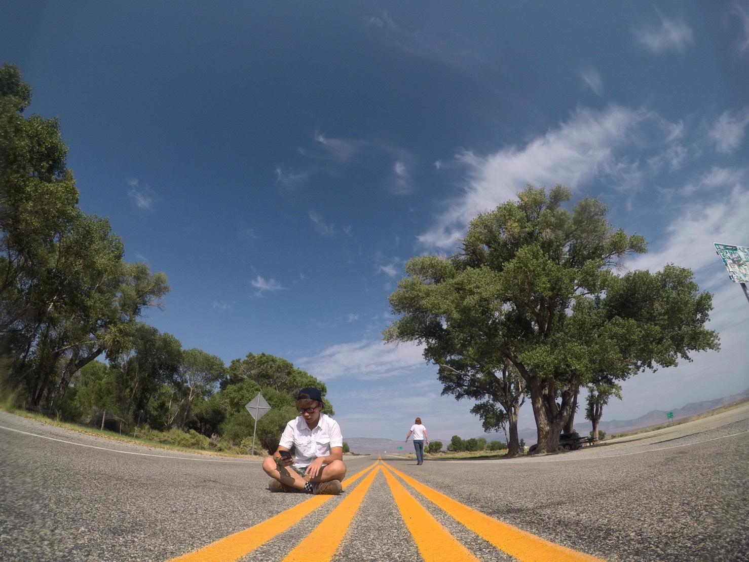 エリア51に通じる道