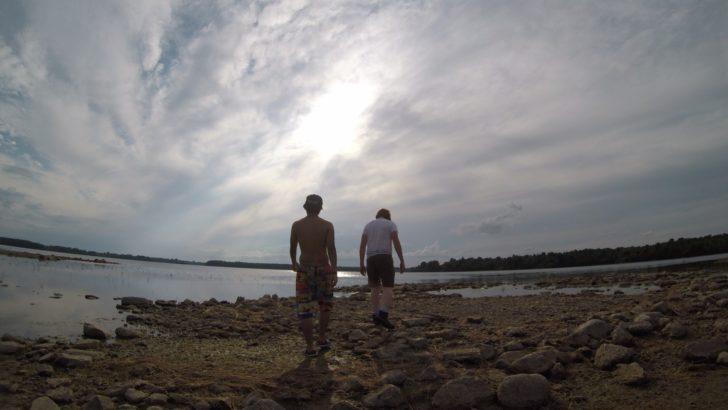 カナダの無人島