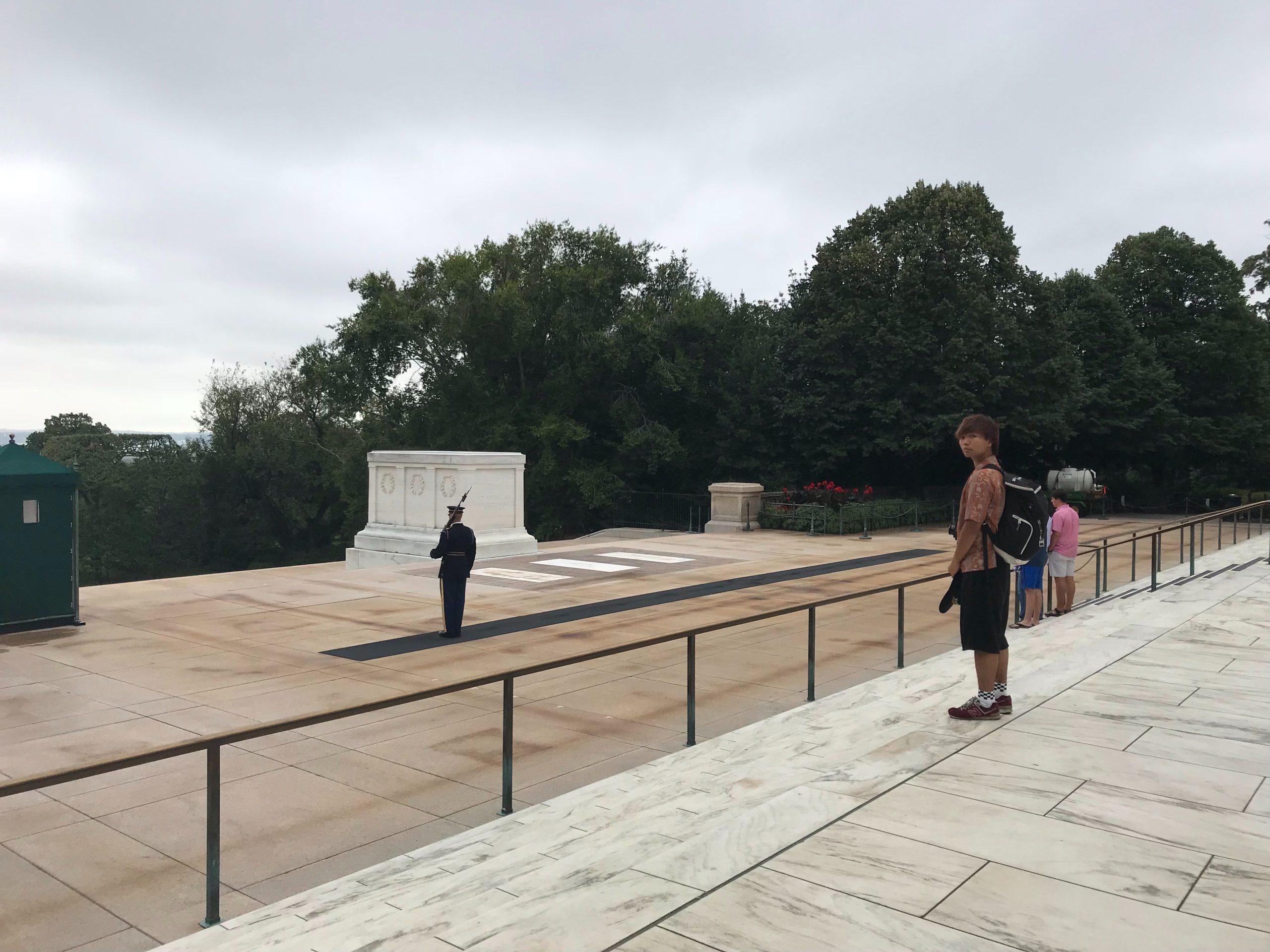 アメリカ横断中 アーリントン国立墓地