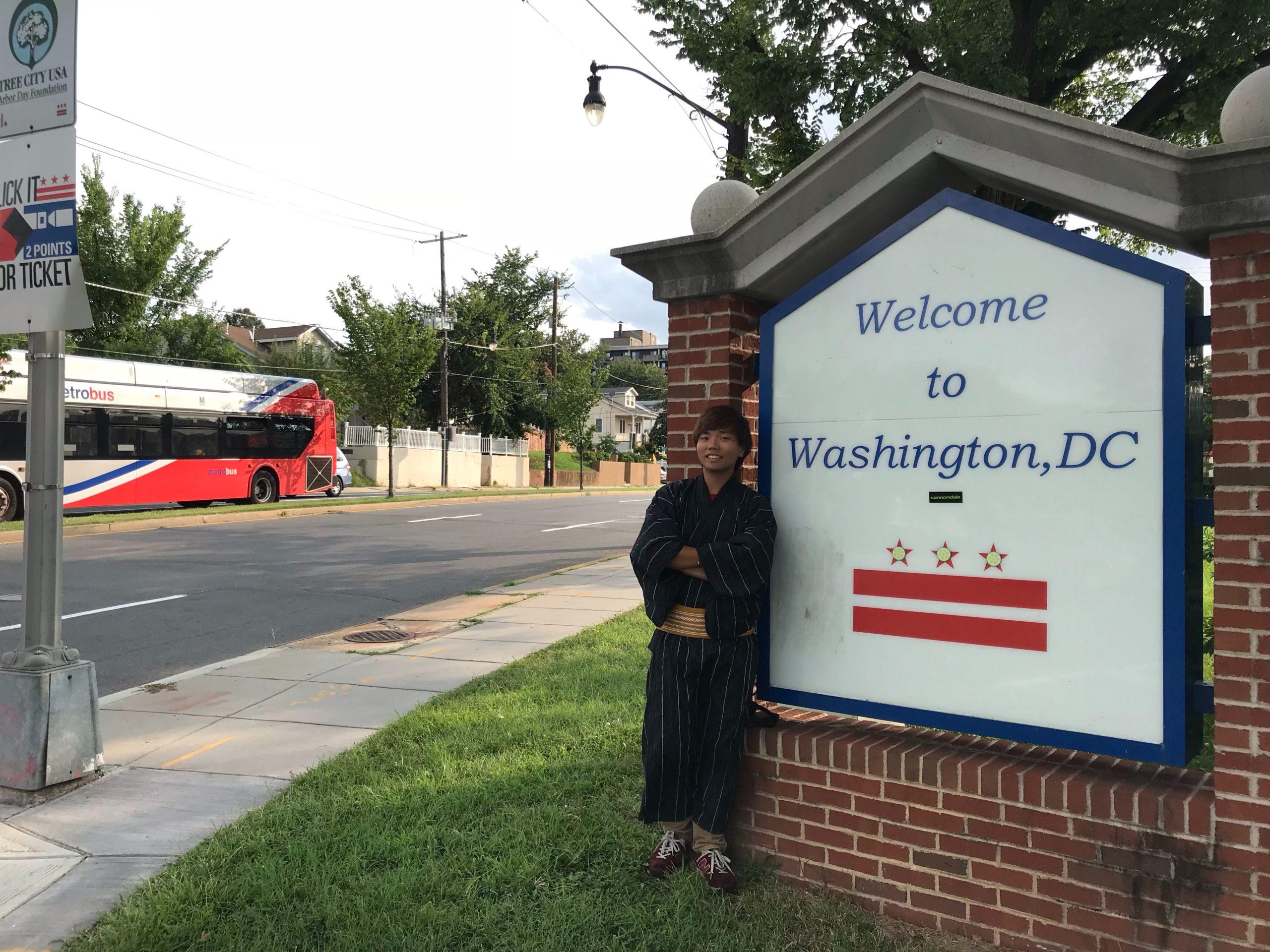 アメリカ横断中にワシントンに行った写真