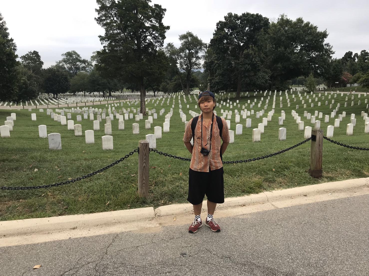 アメリカ横断中 アーリントン国立墓地に行った写真