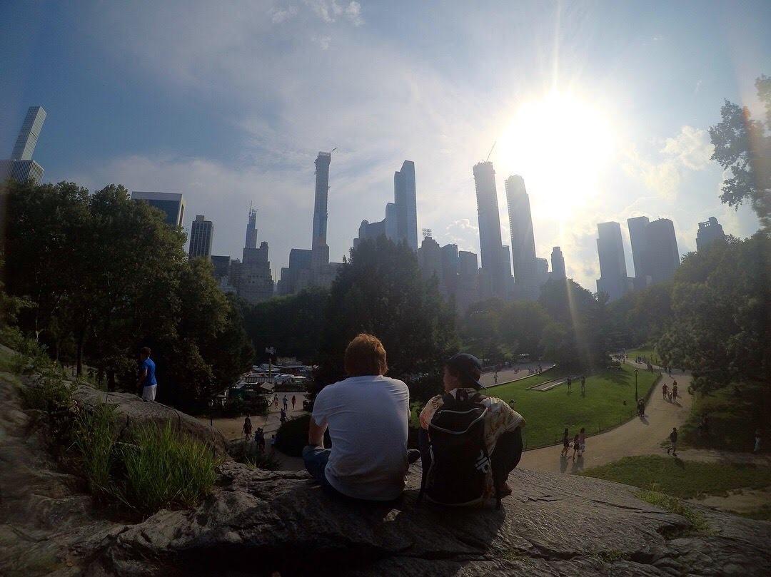 アメリカ横断中にNYに行った写真 セントラルパーク