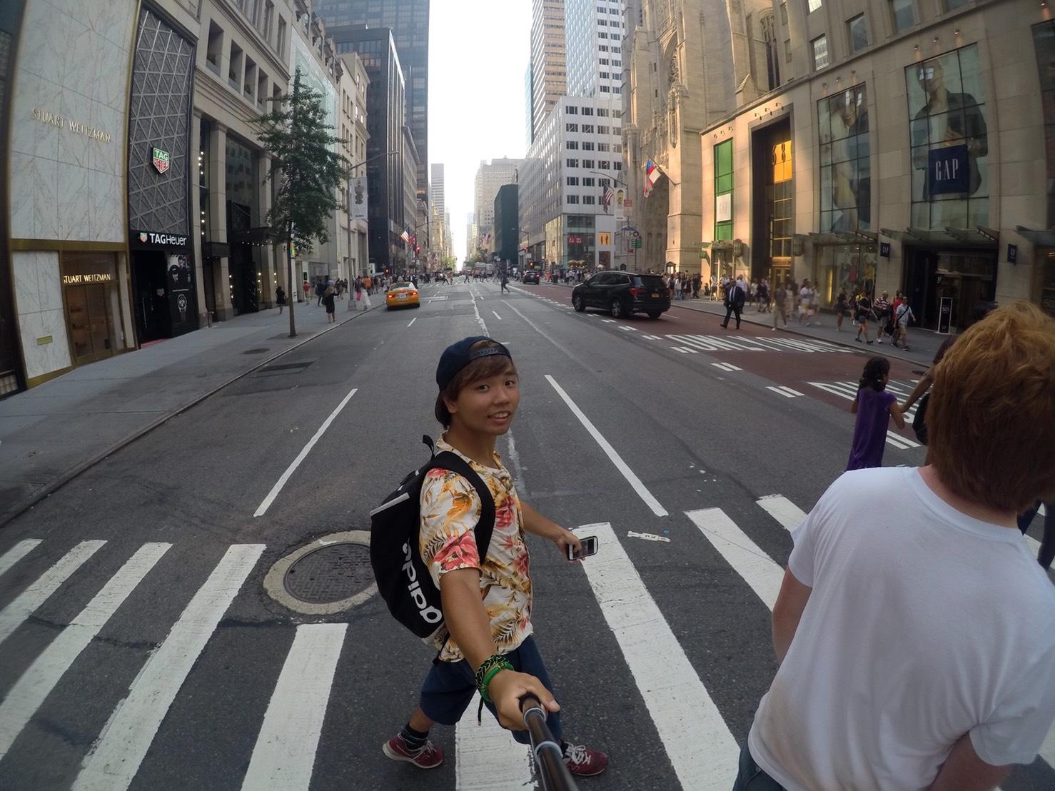 アメリカ横断中にNYに行った写真