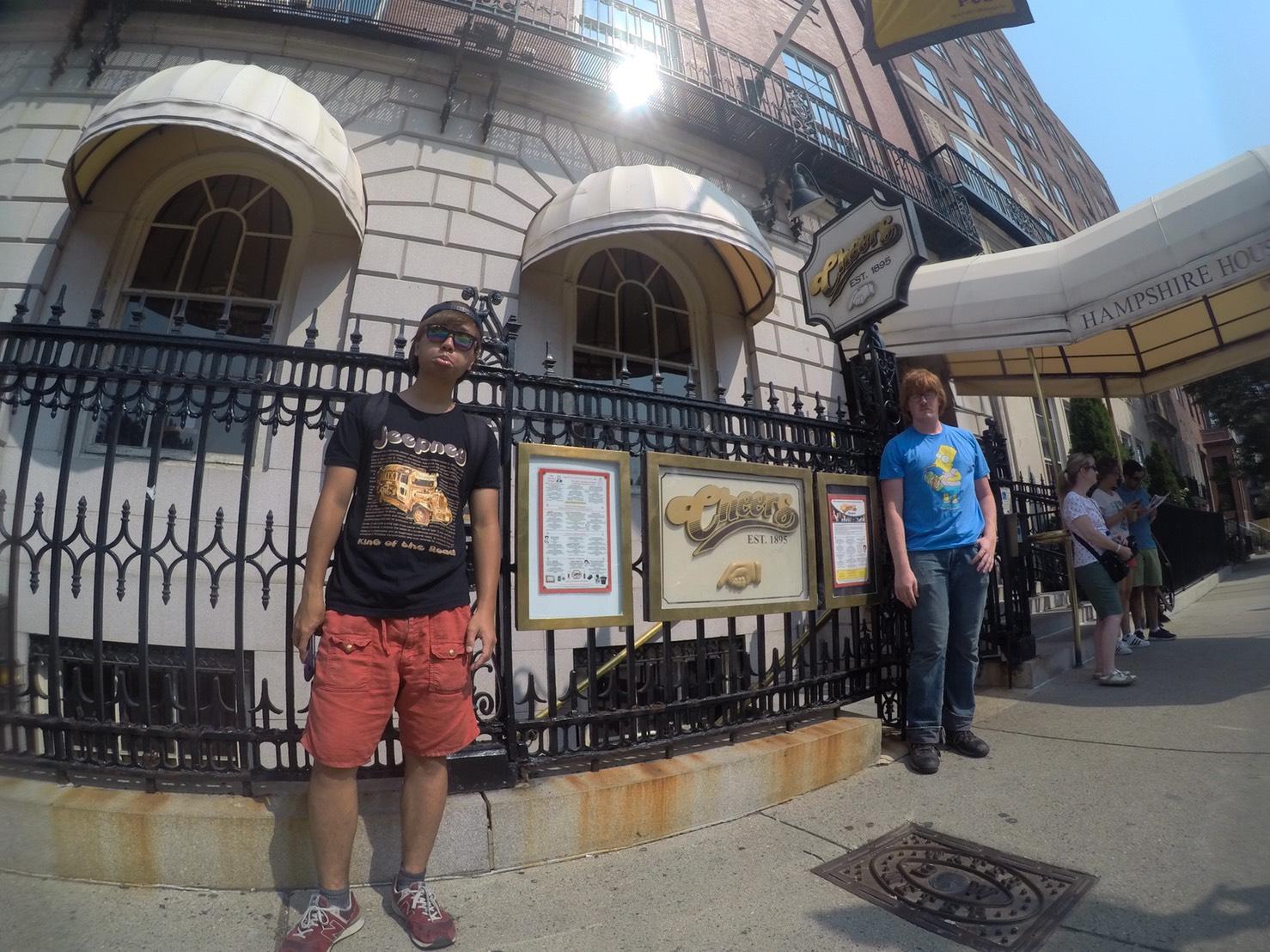 アメリカ横断中にボストンに行った話