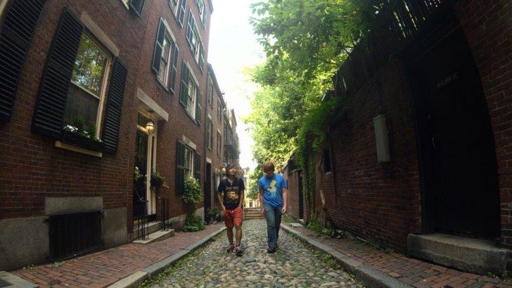 アメリカ横断にボストンに行った話