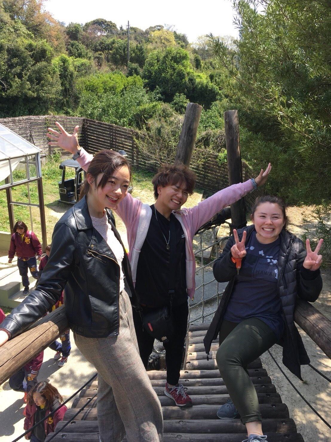留学生とシェアハウスをしていて、そこで出会った友達と遊びに行った写真