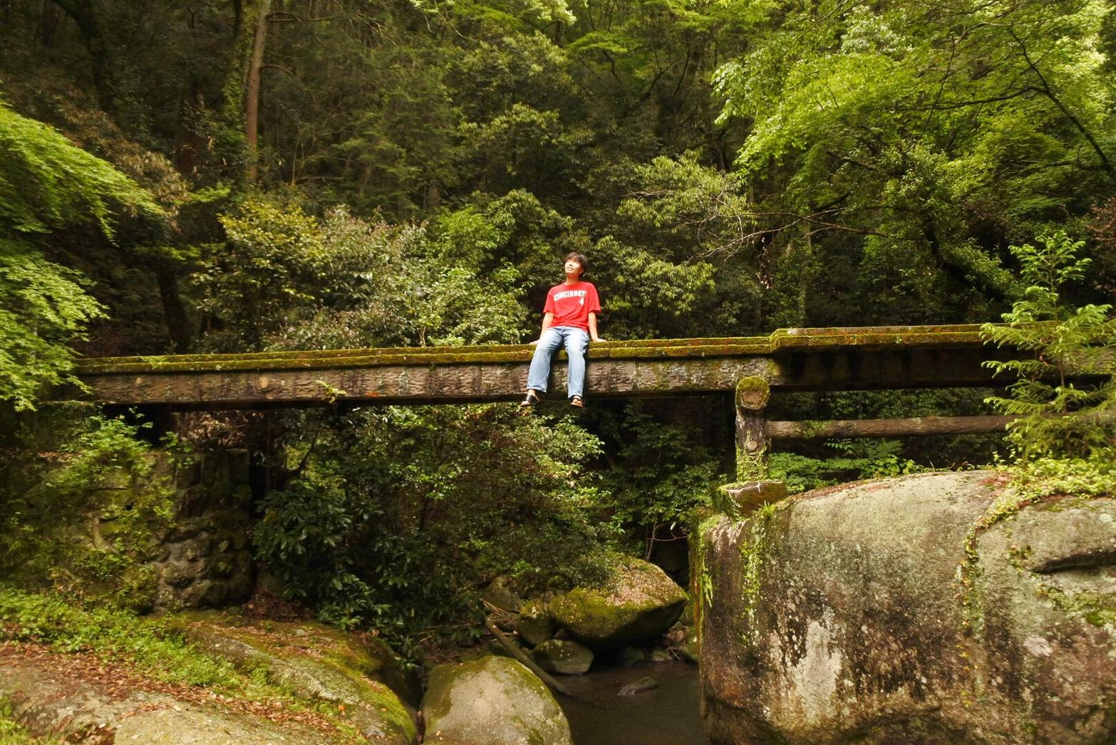 玉滝渓谷へ