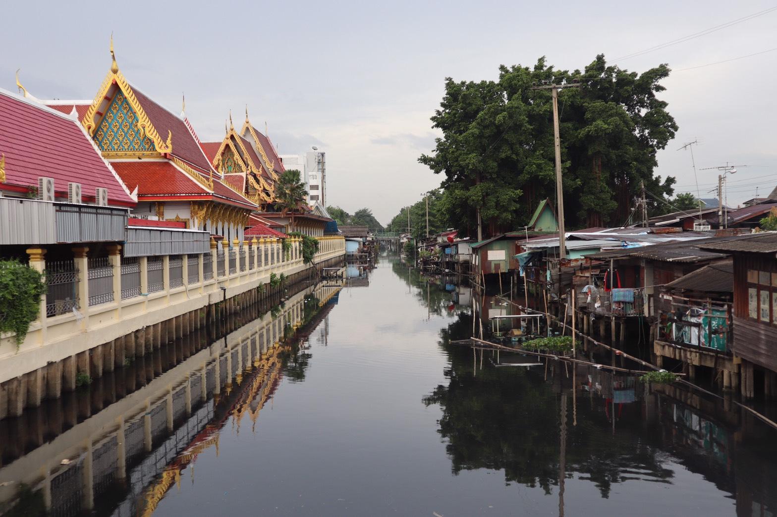 バンコク付近の市場