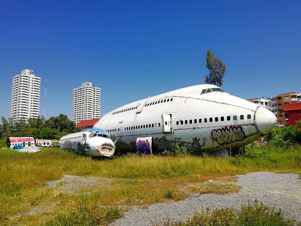 タイ 飛行機の墓場