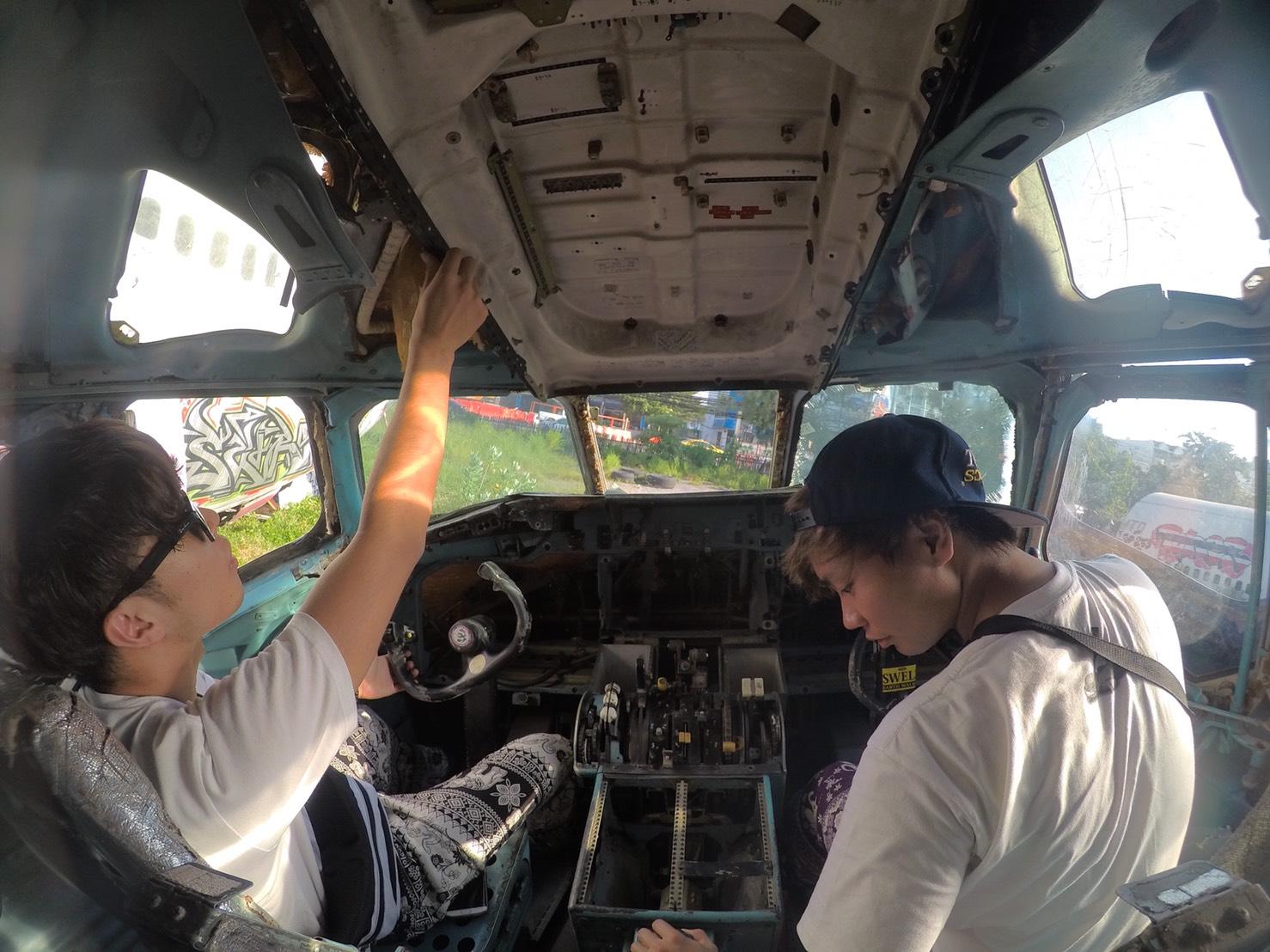 タイの飛行機の墓場