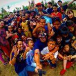 海外ボランティアでバリ島に行った写真