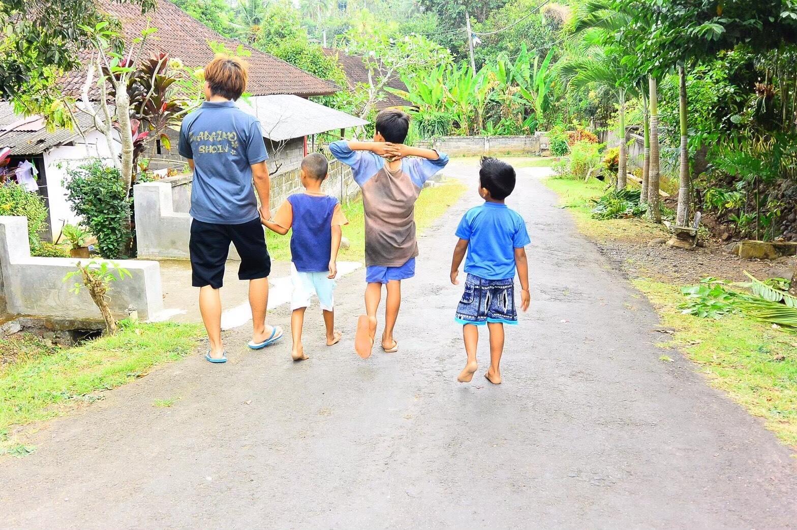 海外ボランティア バリ島