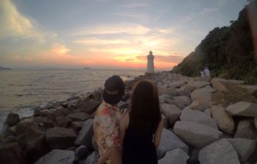 愛知県 渥美半島 伊良湖岬