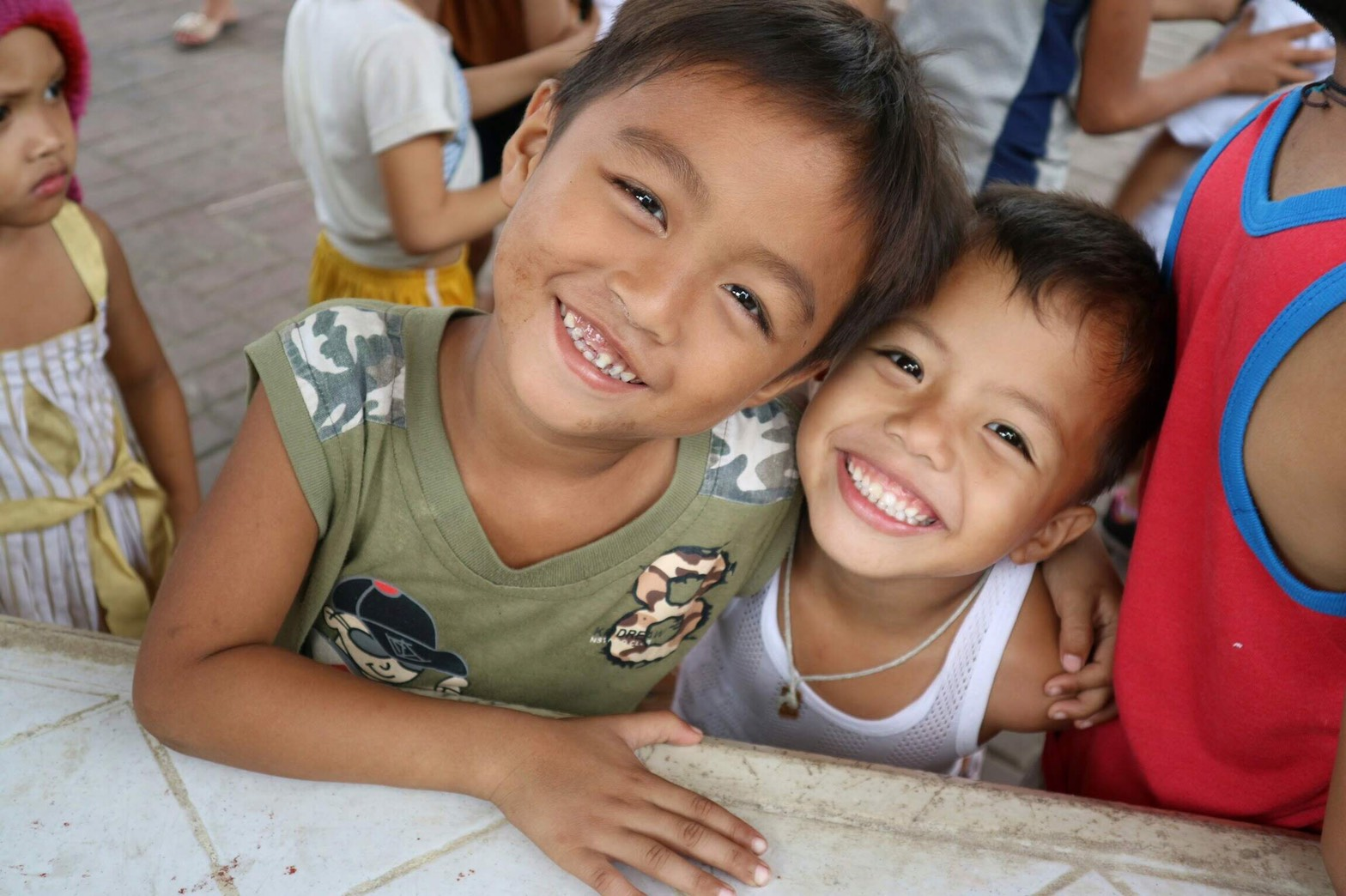 海外ボランティア フィリピンスラム街