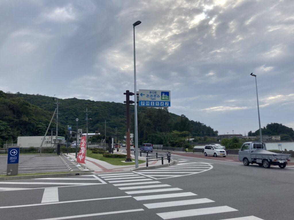 道の駅おおぎみ